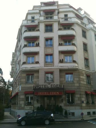 Eden Hotel Geneva : façade