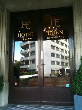 Eden Hotel Geneva : Porte