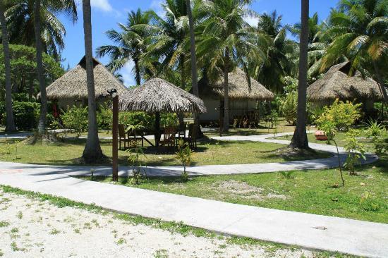 Hotel Raira Lagon : Les farés