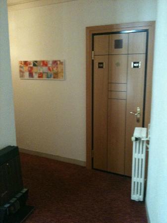 Eden Hotel Geneva : Porte ces chambres