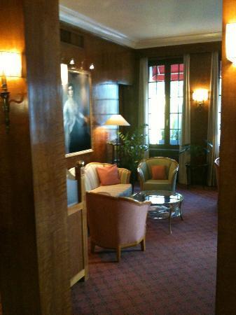 Eden Hotel Geneva : Entrée
