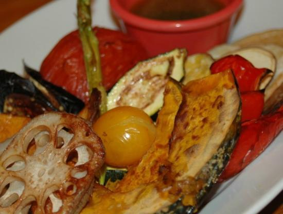 Pizzakaya Roppongi: Pizzakaya Roasted Vegetables