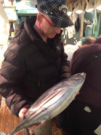 Andy's Shin Hinomoto: Inspecting the produce!