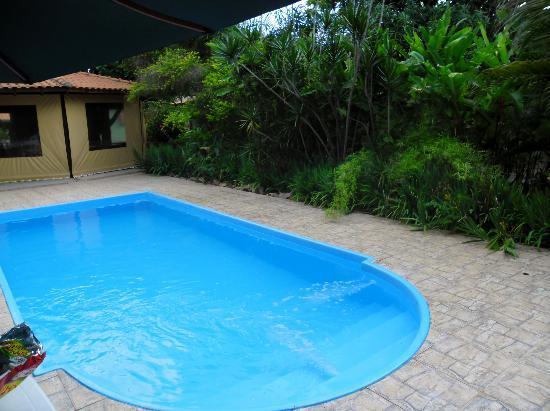 Eco Pousada Villa Verde: Vista da piscina