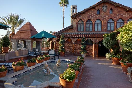 mission inn rooftop picture of the mission inn hotel and. Black Bedroom Furniture Sets. Home Design Ideas