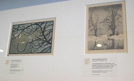 Arentshuis: Frank Brangwyn art