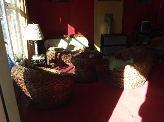 Hostel Koten Aike: Sala de estar