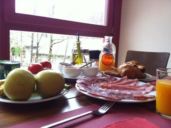 Arrobi Borda : Desayuno