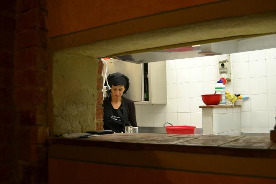 La Locanda di Desideria: la cucina