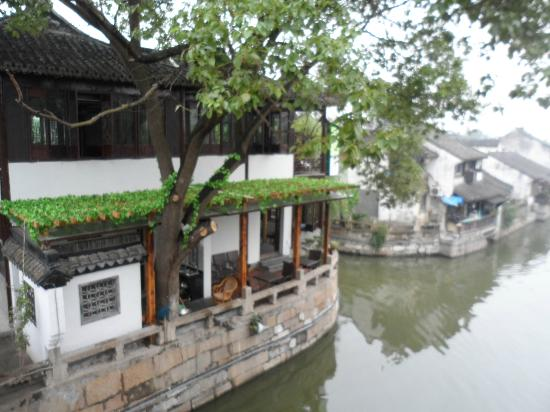 Fengjing Ancient Town : River view