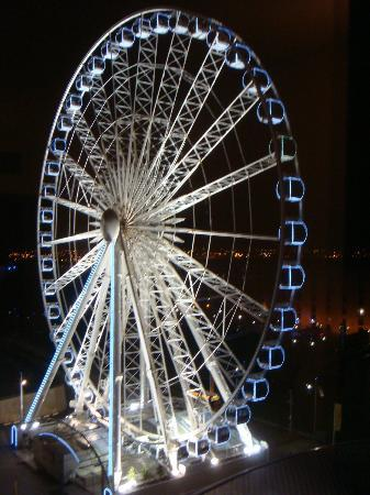 Jurys Inn Liverpool: Echo Wheel from Jurys Hotel [ 6th Floor]
