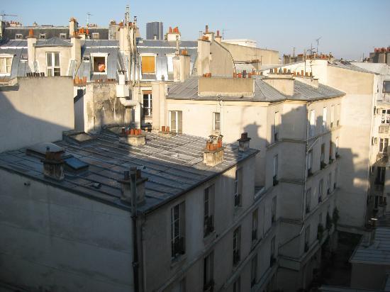 Hotel le Petit Paris: Los tejados del barrio latino
