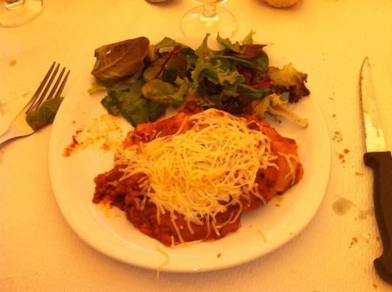 Les Buissonnets: lasagnes buitoni