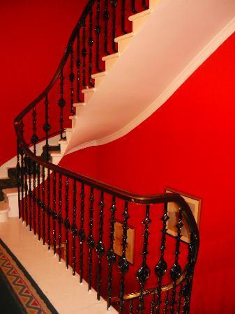 Eyre Guest House : Изысканная винтовая лестница