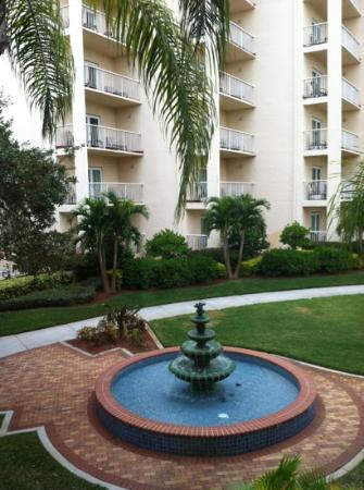 Safety Harbor Resort and Spa: tranquility fountain