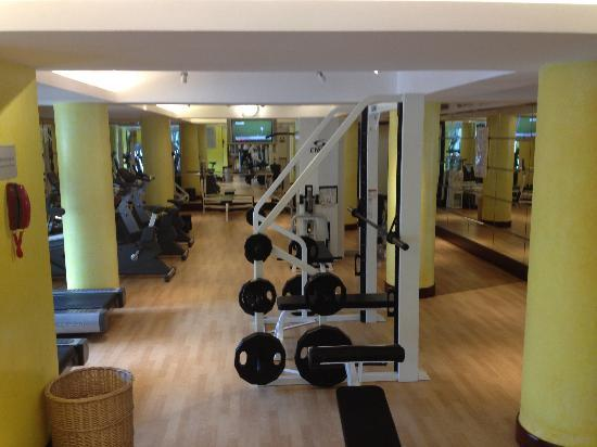 Radisson Blu Hotel Shanghai New World: Gym