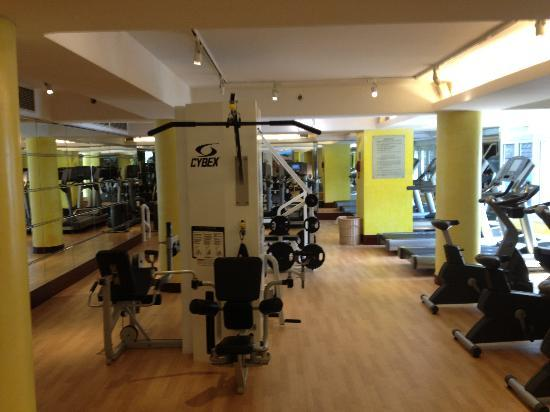 Gym Picture Of Radisson Blu Hotel Shanghai New World
