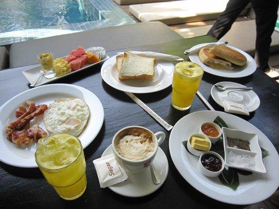 Pippeli Pensione: Breakfast selection
