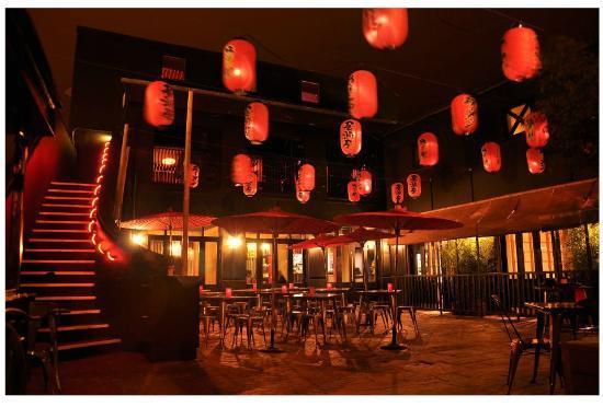 Yum Yum Ninja: Terrace by Night