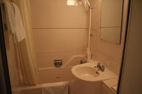 Shin-Osaka Sunny Stone Hotel: Bathroom