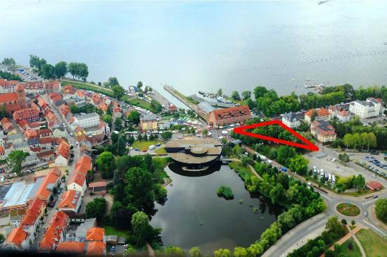 radlon Fahrrad-Komfort-Hotel: absolute top-Lage