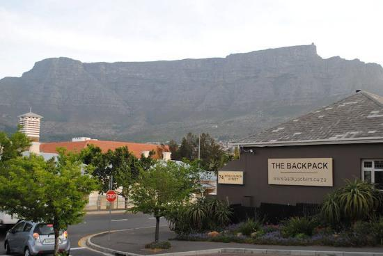 The Backpack: The view of Table Mountain