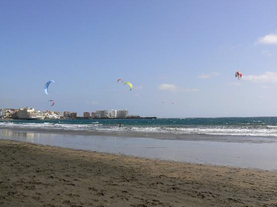 El Medano Hotel: plaża przy hotelu