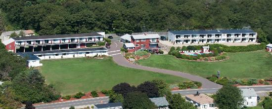Vista Motel Close Up Aerial