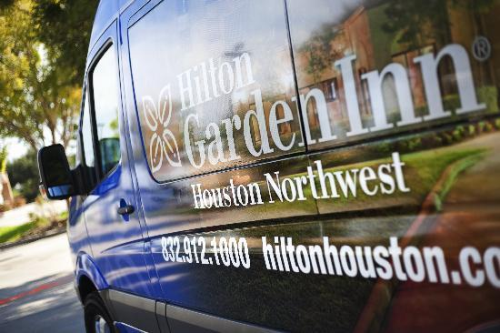 Hilton Garden Inn Houston NW/Willowbrook: Complimentary Shuttle Service