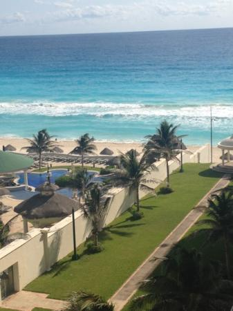 CasaMagna Marriott Cancun Resort: view from our hotel room