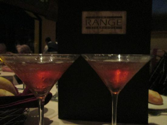 The Range Steakhouse: chocolate martini