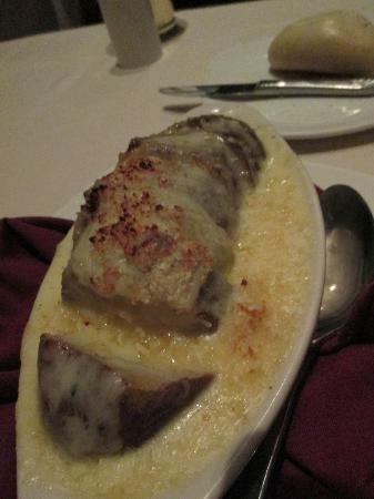 The Range Steakhouse: au gratin potato