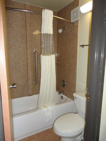 Days Inn Chattanooga Lookout Mountain West: bathroom