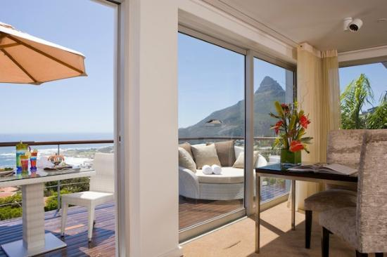 Atlanticview Cape Town Boutique Hotel: The Atlanticview Penthouse Suite Private Balcony