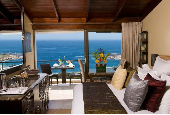 ‪‪Atlanticview Cape Town Boutique Hotel‬: The Atlanticview Master Bedroom‬