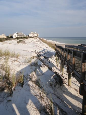 Cabins at Grayton Beach State Park: beach