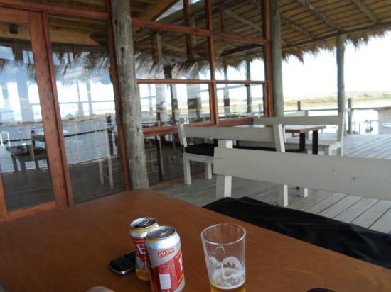 Laguna Garzon Lodge: terraza