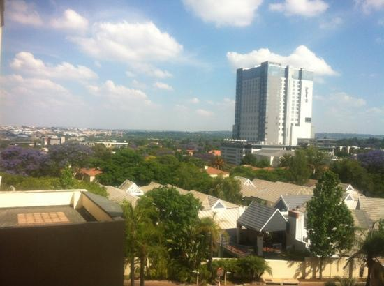 Hilton Sandton : view from room