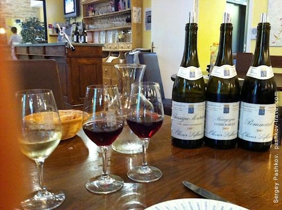 Restaurant la table d 39 olivier leflaive dans puligny - La table d olivier leflaive puligny montrachet ...