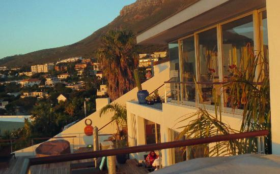 Atlanticview Cape Town Boutique Hotel: View from our Room / Pool area