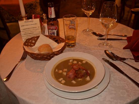 Bohema : Potato and leek soup