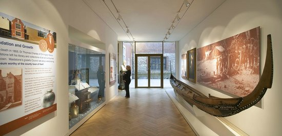 Maidstone Museum: Collectors Gallery (copyright Hufton & Crow)