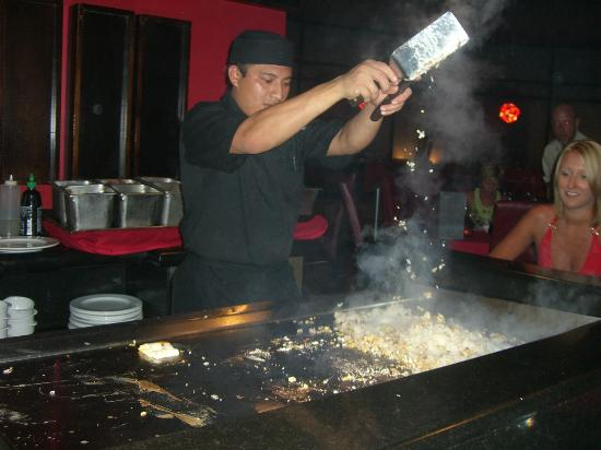 Ocean Maya Royale: Japanese Cooking Show at your Table