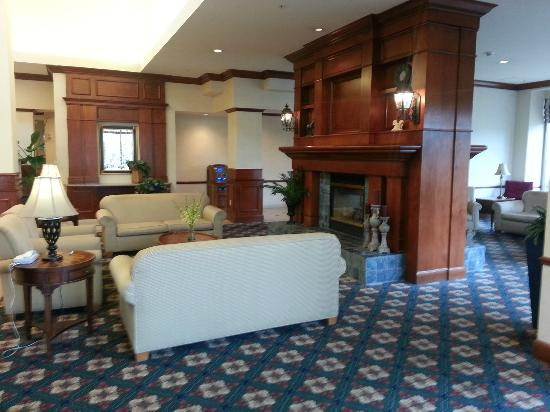Our View Picture Of Hilton Garden Inn Cleveland Downtown Cleveland Tripadvisor