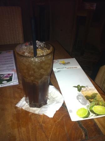 Enchilada: long island ice tea