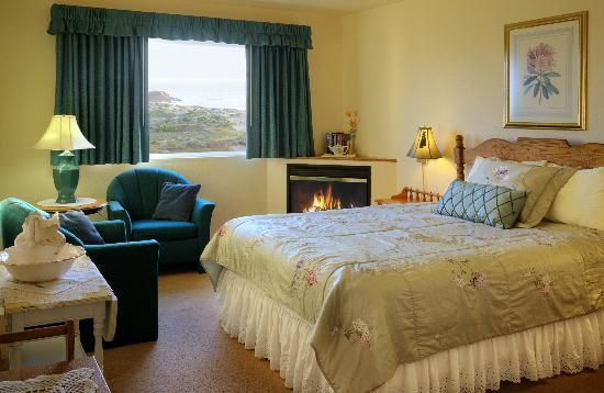 Gualala Country Inn: Ocean view room