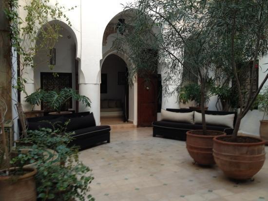 Riad Noor Charana: entrace