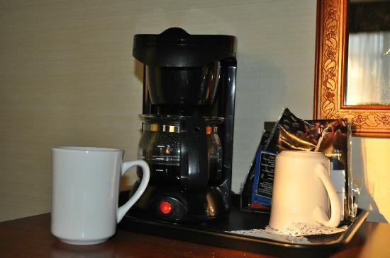 Comfort Hotel Downtown: Coffeemachine