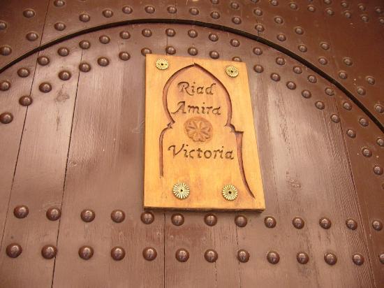 Riad Amira Victoria: Die Eingangstüre