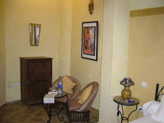 Riad Amira Victoria: mein Zimmer